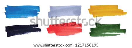 vector highlight stripes set