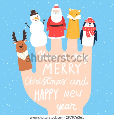 vector holiday background with