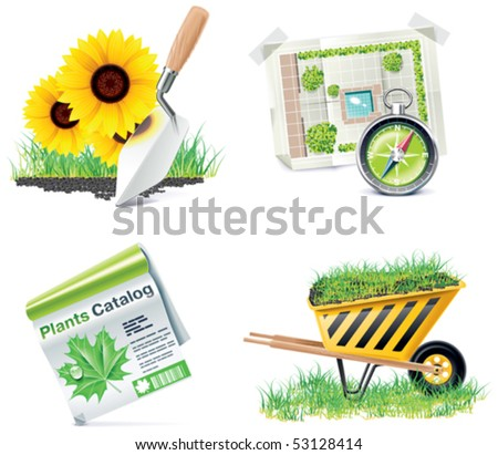 Vector Homebuilding & Renovating icon set. Part 5 - stock vector