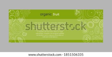 vector horisontal banners of