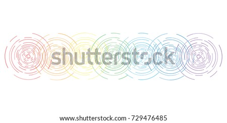 vector horizontal abstract