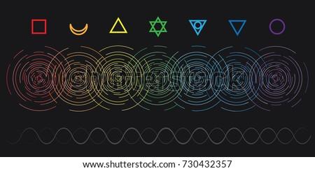 vector horizontal abstract