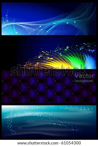 Vector Horizontal Banner
