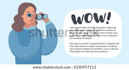 vector horizontal banner with