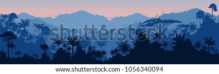 vector horizontal seamless