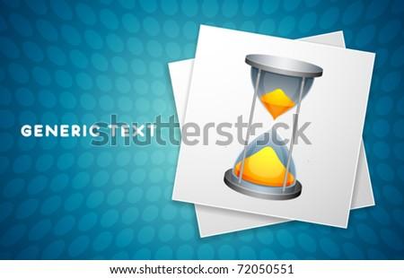 Vector Hourglass Design