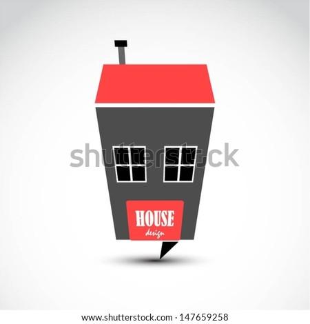 Vector house design