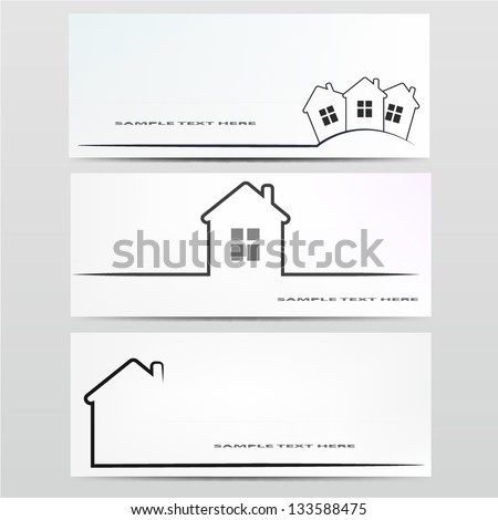 Vector house icon.