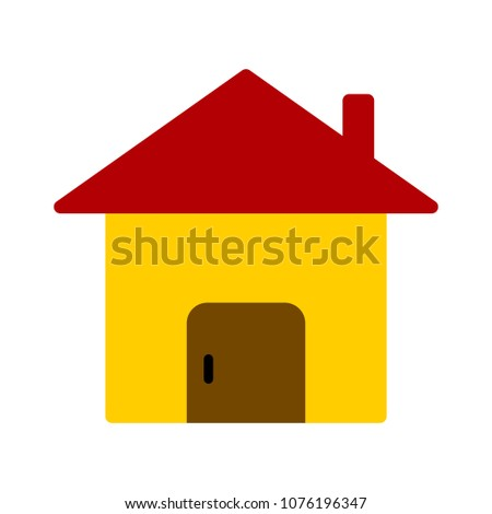 vector house loan - property real estate - rent symbol, mortgage agent - home icon