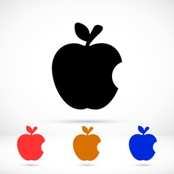 Vector icon Apple 10 EPS