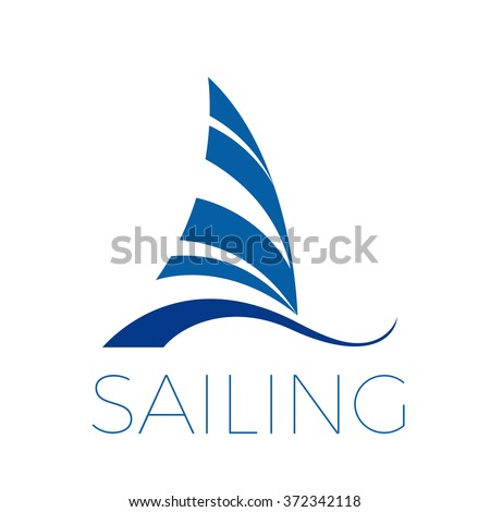 vector icon boat  sailing and