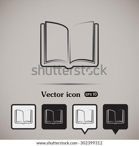 vector icon book