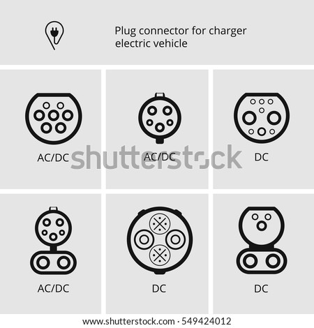 vector icon cable and plug for