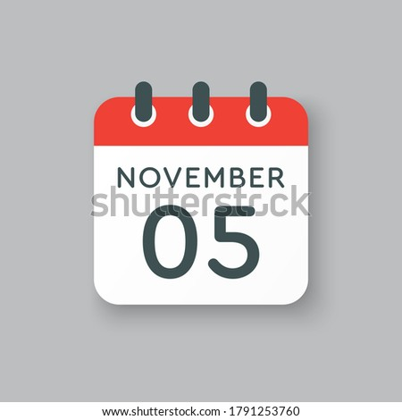 vector icon calendar day   5