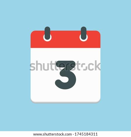 vector icon calendar day