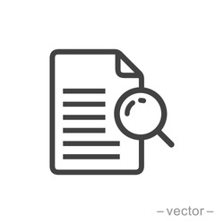 vector icon case study on white background