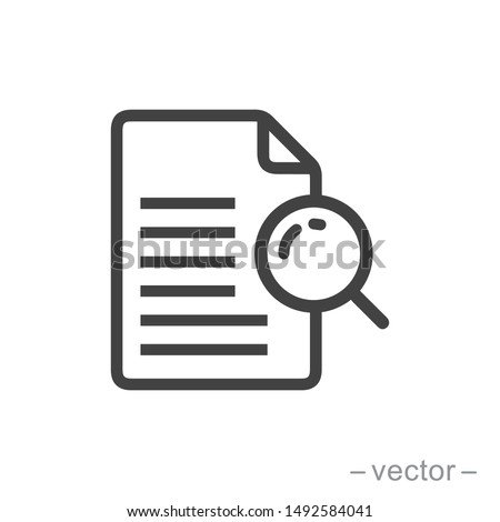 vector icon case study on white background ストックフォト ©