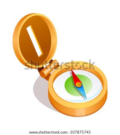 vector icon compass