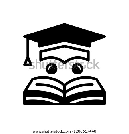 Vector icon for education