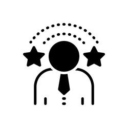 Vector icon for exclusivity