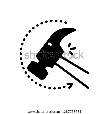 Vector icon for indestructible Stock photo ©