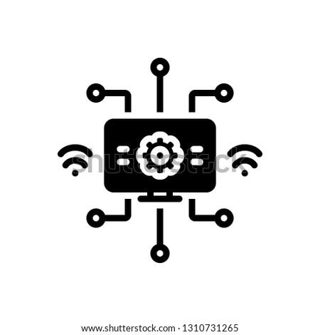 Vector icon for modernization
