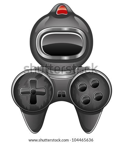 Vector. Icon game.