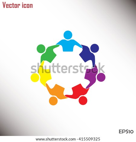 vector icon graphic teamwork