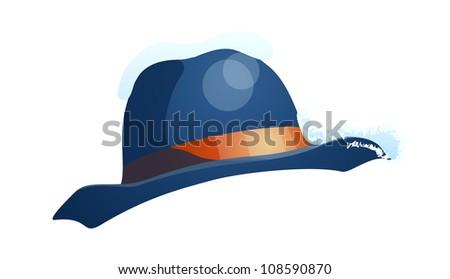 vector icon hat