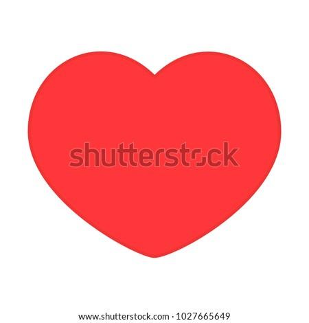 vector icon heart favorite