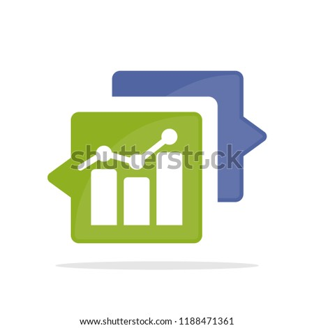 Vector icon illustration with the concept of communicating, consulting about business strategies, marketing strategies, investment strategies.