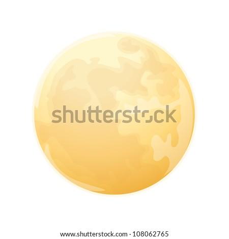 vector icon moon