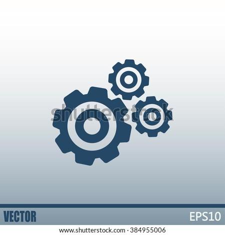 Vector icon pinion  Foto d'archivio ©
