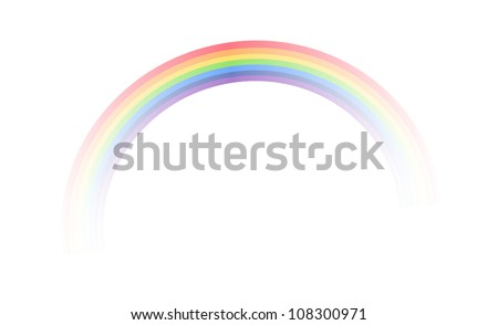 vector icon rainbow