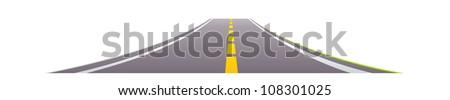 vector icon road