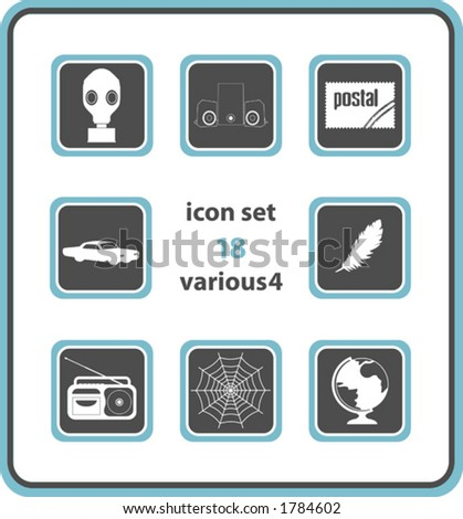 vector icon set 18  various4