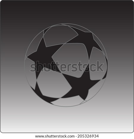 vector icon soccer ball