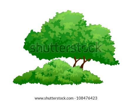 vector icon tree