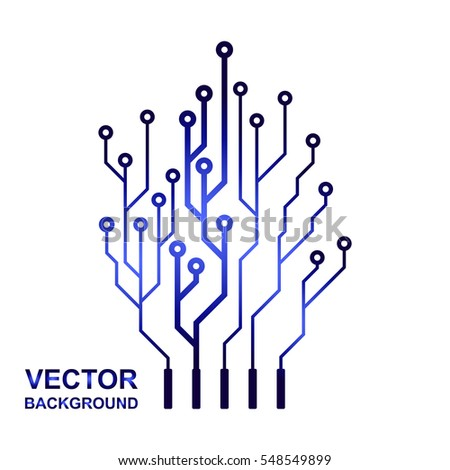 Groovy Abstract Digital Conceptual Logo Electronic Handprint Security Lock Wiring 101 Swasaxxcnl