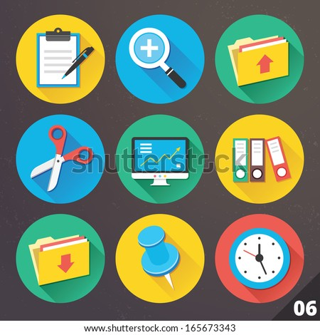 Vector Icons for Web and Mobile Applications Set 6