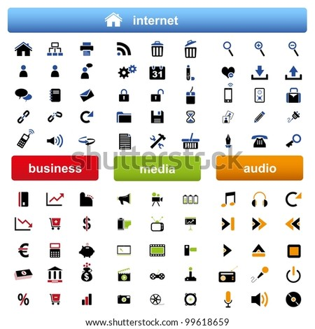 vector Icons for Web Applications