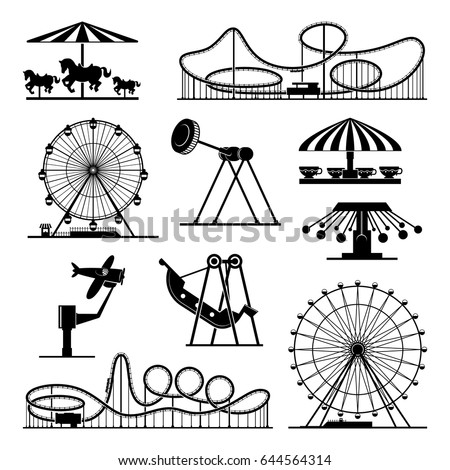 vector icons of different...