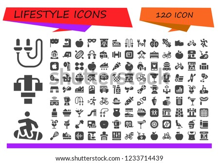 vector icons pack of 120 filled