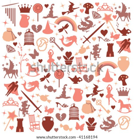 vector icons pattern - view more at my gallery