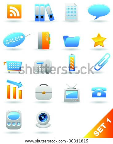 Vector icons. Set1