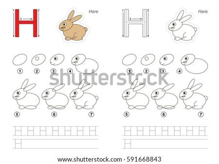 vector illustrated alphabet