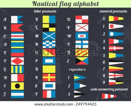 Bien-aimé Nautical Flag Vectors - Download Free Vector Art, Stock Graphics  TG37
