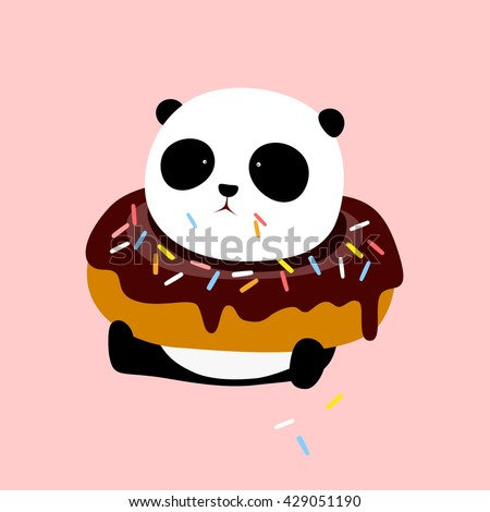 vector illustration  a cute