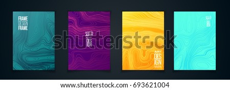 stock-vector-vector-illustration-a-minimalistic-hipster-colored-frame-design-vector-line-gradient-halftone