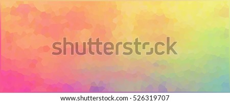 vector illustration abstract mosaic polygonal colorful banner